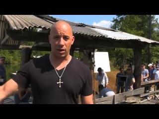 Эксклюзив: Вин Дизель и его видео-сообщение с первого дня съемок Fast&Furious 7 !!!